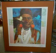 Bart Forbes watercolor print Chief Joseph Nez Perce signed numbered 249/650