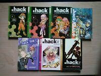 .hack Legend of the Twilight 1-3, G.U.+ 4, Link 2 Lot of 7 Shonen Manga, 13+