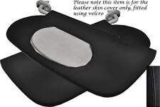 BLACK STITCH FITS CHRYSLER PT CRUISER 00-10 2X SUN VISORS LEATHER COVERS