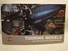 2009 Harley touring road king electra glide road glide street flt owners manual