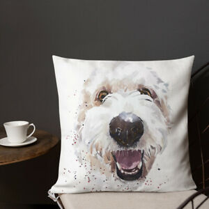 Goldendoodle Premium Pillow/Cushion