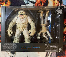 Star Wars Black Series Luke Skywalker and Wampa Blue-Line Hasbro 2008 NEW