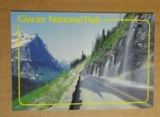 Printed Postcard - Glacier National Park - Weeping Wall Going to Sun Road