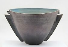 ceramic bowl by Alan Foxley UK, contemporary studio pottery, 20cm/7.9inch