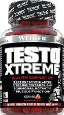 Weider Testo Xtreme Dose mit 120 Kapseln (30,29 €/100 g)