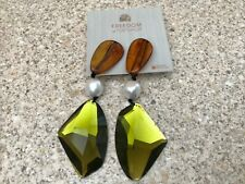 Freedom At Topshop Resin Mix Statement Stud Earrings Brand New