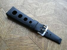 ART 2797 genuine N.O.S. TROPIC SPORT Swiss Made strap. 22 mm. BLACK