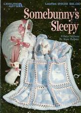 Somebunny's Sleepy Baby Afghans Crochet Instruction Patterns Anne Halliday NEW