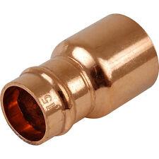 Qualité 15mm x8mm cuivre à souder bague/yorkshire internet raccord réducteur, free p&p