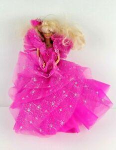 Barbie Pink Dress Mattel Vintage 1966 Body 1976 Head Doll Figure