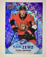 2019-20 ICE Sub Zero - Rookies #SZ-27 Vitaly Abramov RC /999 - Ottawa Senators