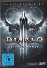 Diablo 3 III - Reaper of Souls - PC - DVD inkl Code - NEU & OVP Deutsche Version