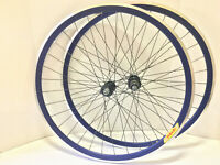 *Handbuilt* Road Bike Wheels Shimano Dura Ace 11 Spd Velocity Deep V 32H Rims