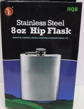 Stainless Steel 8 oz Hip Flask