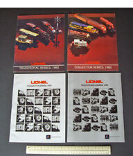 1982/83 Lionel USA Toy Train Catalogues x 4 Traditional & Collector Series.