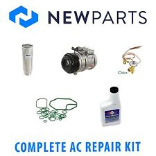 Lexus LS400 1990-1992 New AC A/C Repair Kit with OEM Denso Compressor & Clutch