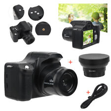 3.0in 18X Zoom 1080p HD Digital SLR Camera Video Camcorder with Wide Angle Lens