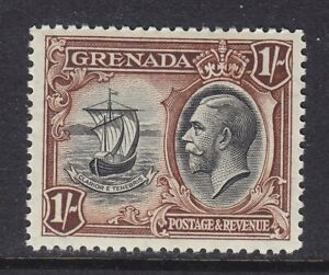 GRENADA 1934-36 SG142 1/- BLACK & BROWN MNH