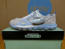 Skechers Vintage Rare Go Train Womens Running Shoes Size 6.5 Light Gray Blue E29
