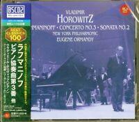 VLADIMIR HOROWITZ-RACHMANINOFF: PIANO CONCERTO NO. 3...-JAPAN BLU-SPEC CD2 D20