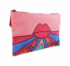 Bourjois Pink Lips Funky Cosmetic Makeup Bag