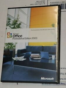 MICROSOFT OFFICE PROFESSIONAL EDITION 2003 UPGRADE RETAIL FOR WINDOWS B3.3