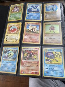 Pokemon Card Collection in Binder 20 pages 360 cards different sets