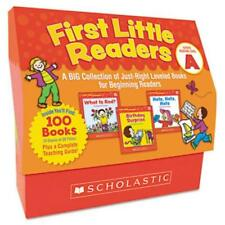 Scholastic Level A 1st Little Readers Book Set Education Printed Book By Deborah