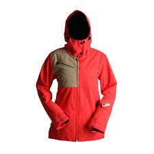 RIDE Snowboard Women's CHERRY Snow Jacket - Poppy/Khaki - Medium - NWT