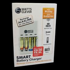 Batterieladegerät Ladegerät für normale Batterien und Akkus AA + AAA Batterieen