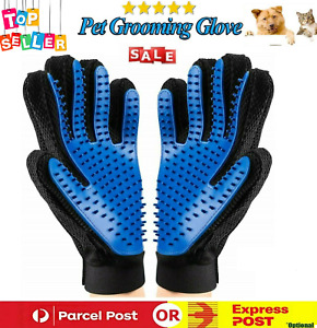 Pet Hair Remover Dog Grooming Glove Cat Brush Fur Removal Groomer for Dog & Cat