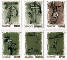 BATTLESTAR GALACTICA COMPLETE :ARTIFEX OR COLONIAL WARRIORS CHASE CARDS CHOOSE