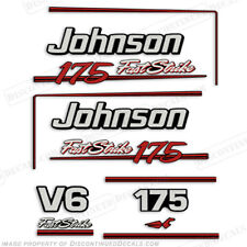 Johnson 1991-1996 175hp FastStrike V6 Decal Kit -  Decal Reproductions in Stock