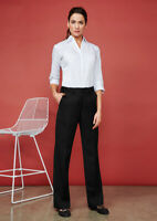 Biz Collection Ladies Detroit Pants Teflon® Stain Resistance Fabric Flex-Band