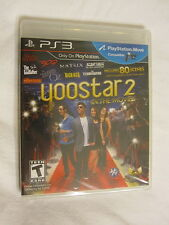 Yoostar 2 In the Movies PS3 (PlayStation 3) Brand New, Sealed~