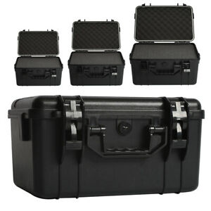 Waterproof Travel Flight Hard Carry Case Foam Camera Storage Box Protective uk