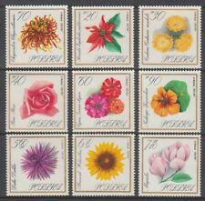 Poland 1966 Flowers Mint Set (x9) (Id:487/D57699)