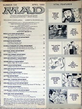 MAD Magazine # 126 - 1969 - COMIC MAGAZINE