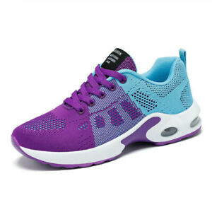 New Casual Shoes Breathable Light Shoes Lace Up Air Cushion Sports Shoes Women
