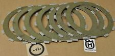 NOS Husqvarna Motorcycle Clutch Friction Plate Disk Lot QTY 7
