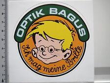 Adesivo sticker BAGUS-mi piacciono i miei occhiali-ottici-Essen (2111)