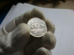 1933 Australia Shilling coin (good VF)