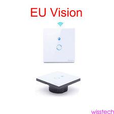 Sonoff EU Monitor APP WIFI Wireless Glass Panel Touch LED Light Smart Switch