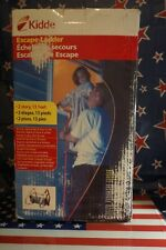Kidde Fire Escape Ladder 2 Story 13 Ft. Tangle-Free Bedroom Window Home Safety