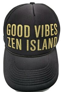 ZEN ISLAND SANTA CRUZ hat adjustable snapback cap - Good Vibes