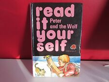 vintage ladybird book ( peter and the wolf ) r.i.y  series 777- 1978- 45p net