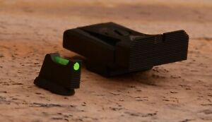 CZ 75 Compact, CZ 75B Omega, CZ 97 Adjustable Rear Sight Sets with fiber optics