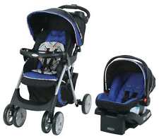 GracoComfy Cruiser Click Connect Stroller Travel System, with SnugRide ClickConn