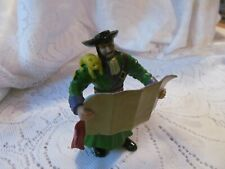 """Pirate Fantasy Action Figure 3.75"""" Early Learning Center ELC Captain Map Cat"""