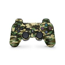 Playstation 3 Controller Aufkleber PS3 Skin Sticker Design Camouflage Wood Camo